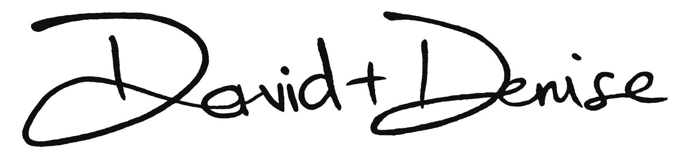 david + denise